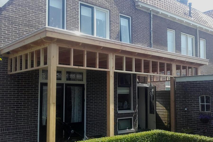 Een maatwerkproject de van De Splinter Blokhutten & Tuinmeubelen